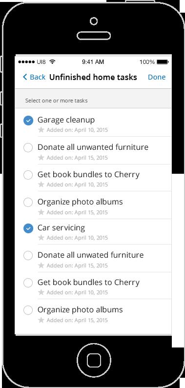 7 Minute Life Planner iOS App
