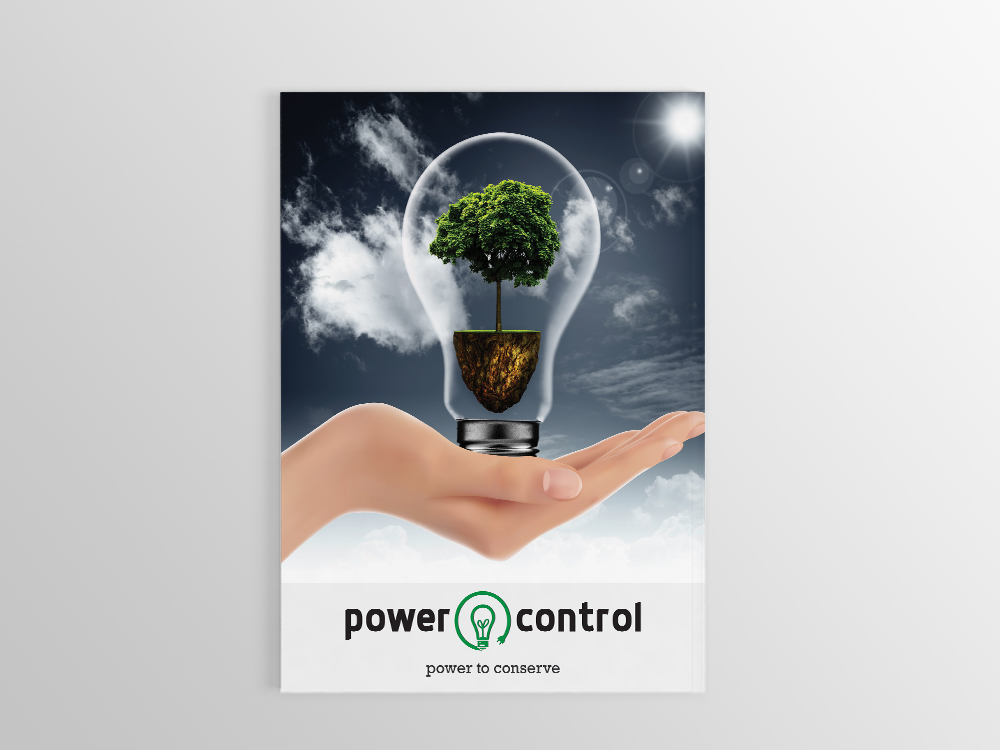 Power Control Brochure Design