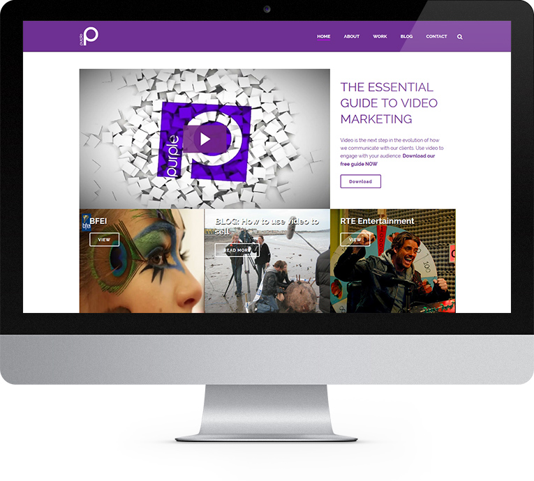 Purple - A specialist TV and video production company