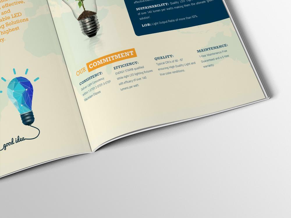 Power Control Brochure Design