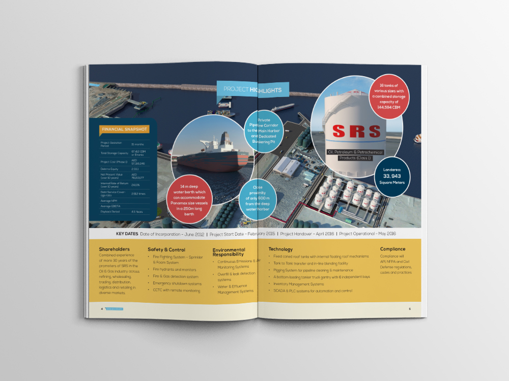 SRS Bulk Oil Storage Terminal Brochure